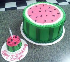 Watermelon Cake Decorating Ideas Watermelon Ice Cream Cake Watermelon Stuff Always Reminds Me Of