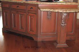Kitchen Island With Corbels Kitchen Comely Image Of Kitchen Decoration Using White Wood