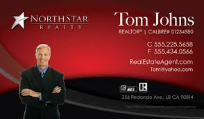 Realtor Business Card Template North Star Realty Business Cards 69 99 Professionally Designed