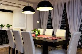 dining room curtains ideas bedroom mirror ceiling light vertical