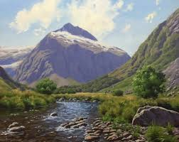 Mountain Landscape Paintings by How To Paint A Mountain Landscape A Step By Step Guide U2022art