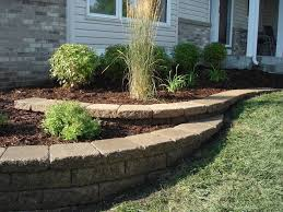 backyard retaining wall designs landscape retaining wall design