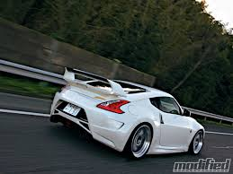 nissan 370z used 2010 2010 nissan 370z amuse body kit modified magazine