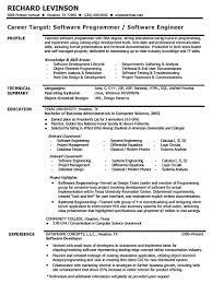 Java Web Developer Resume Sample by Software Engineer Resume Sample Experienced Free Resume Example