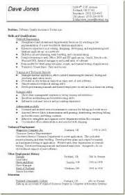 Software Testing Resume Samples For Experienced by Software Testing Cv For Fresher Software Testing Resume Samples