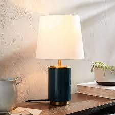 Small Table Lamp Black Black Table Lamp Black Desk Lamp Black Table Light West Elm