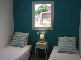 chambre et turquoise chambre turquoise