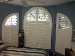 Traditional Interior Shutters Arch Traditional Shutters Specialty Window Shape Ideas With