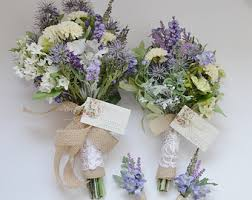Bridesmaid Flowers Wedding Bouquet Etsy