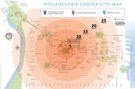 Map Of Philly Day By Day Guide To The Pope U0027s Visit To Philadelphia