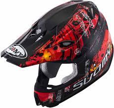 motocross helmet review suomy mr jump maori motocross helmet red helmets unisex suomy jump