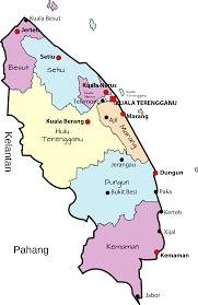 Map Of Malaysia Clipart Parliamentary Map Of Terengganu Malaysia