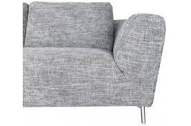 canap narbonne canapé d angle droit en tissu gris design sur sofactory