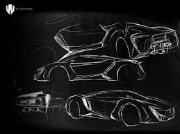 lamborghini logo sketch inside w motors creators of the lykan hypersport
