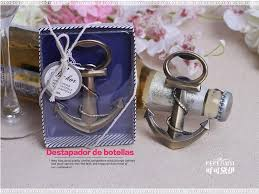 wedding giveaways new ideas wedding giveaways coppery anchor shaped chrome bottle