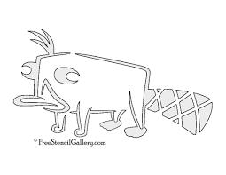 perry platypus stencil free stencil gallery