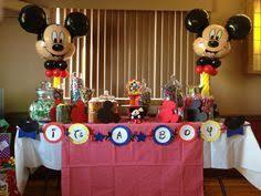 Beautiful Decoration Mickey Mouse Baby Shower Theme Wonderful