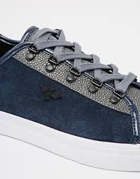 creative recreation kaplan stingray trainers in blue for men lyst