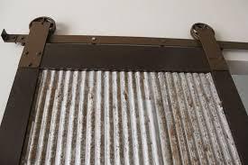 Steel Barn Door by Corrugated Doors U0026 Marvelous Kitchen Cabinets Planner 2