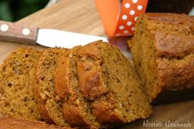 pumpkin bread recipe hoosier