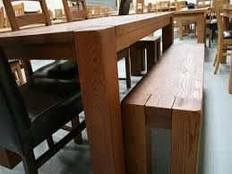 oak bench for dining table delectable decor d dining table with
