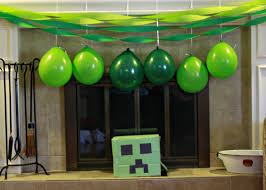 minecraft party decorations minecraft party decorations fantastic minecraft party decorations