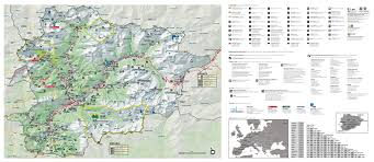 Andorra Map Large Detailed Tourist Map Of Andorra Andorra Europe