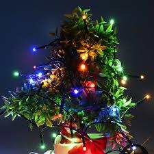 4pack qedertek christmas solar lights outdoor decoration string