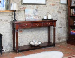 furniture console table with drawers to grace your entryway