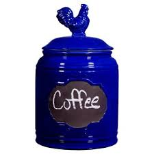 cobalt blue kitchen canisters blue kitchen canisters jars you ll wayfair