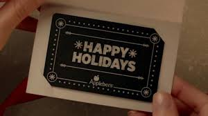 applebee gift card applebee s tv commercial give a gift card get a gift card up to