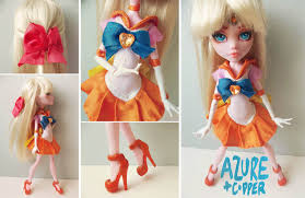 sailor moon azure and copper crafts