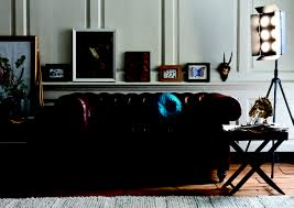 decorations hovering modern classic living room with black mid