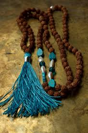 turquoise tibetan necklace images Mala beads turquoise tassel necklace tibetan evil eye jpg