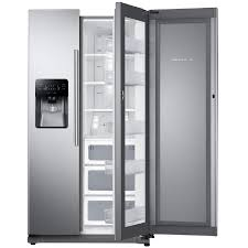 Energy Star Exterior Door by Shop Samsung Food Showcase 24 7 Cu Ft Side By Side Refrigerator