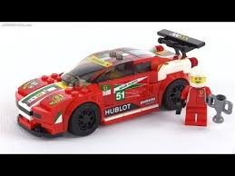 speed chions ferrari speed chions ferrari 458 italia gt2 review set 75908 youtube