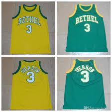 cheapest online high school bethel high school basketball jerseys 3 allen iverson jersey high