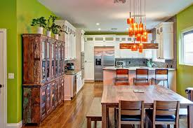 Orange Kitchens Ideas Orange Pendants For The Contemporary Kitchen Ideas And Inspirations