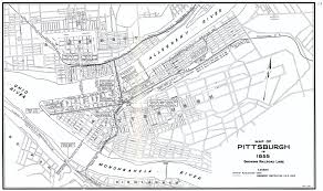 Map Of Ohio And Pennsylvania by Pittsburg Area Prr Maps