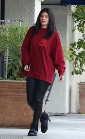 jenner sweater jenner shows she is a big kanye fan with sweater and
