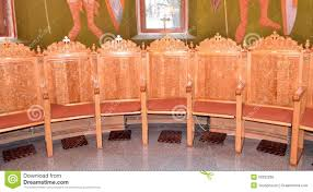 chaise d église chaises d église image stock image du classique architecture