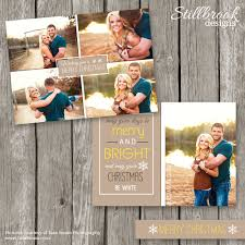 christmas photo card template card templates creative market