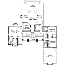 ranch style house plan 3 beds 2 50 baths 2556 sq ft plan 124 218