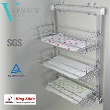 latest aluminum storage wardrobe basket home stainless steel latest aluminum storage wardrobe basket home stainless steel basket kitchen wire pull out basket