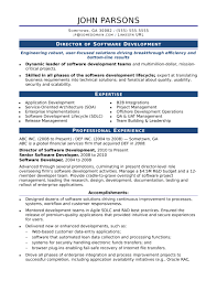 software developer resume template sle resume for an experienced it developer
