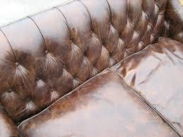 Antique Tufted Sofa by Furniture Antique Brown Tufted Leather Sofa Design Idea
