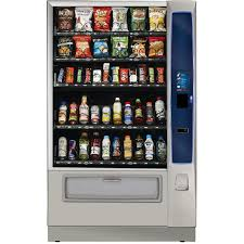 crane merchant media 6 combo refrigerated vending machine