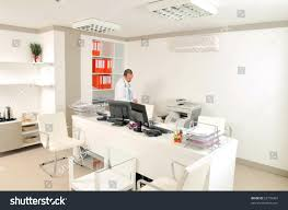 medical doctor white office room series stock photo 52755067