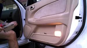 nissan sentra door shell diy 1996 nissan maxima 1995 1999 v6 passenger door panel