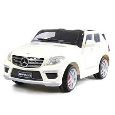toddler battery car mercedes ml 63 amg 12v kids ride on toy car battery powered